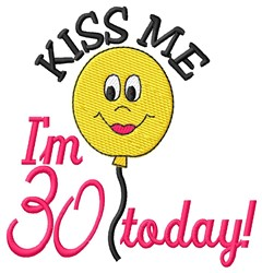 30 Today embroidery design