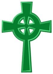 Celtic Cross Applique embroidery design