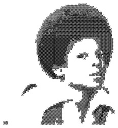 Cross Stitch Michael embroidery design