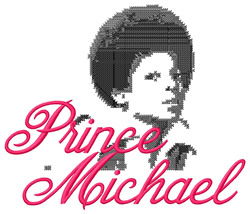 Prince Michael embroidery design