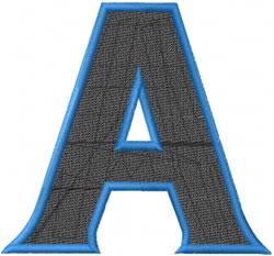 Toga Alpha embroidery design