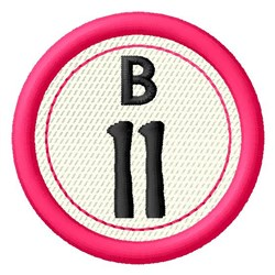 Bingo B11 embroidery design