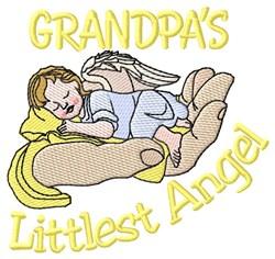 Grandpas Littlest Angel embroidery design