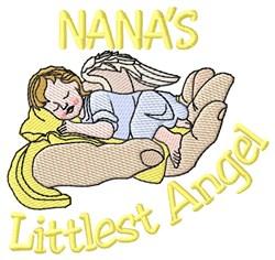 Nanas Littlest Angel embroidery design