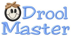 Drool Master embroidery design