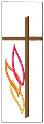 Religious Bookmark embroidery design