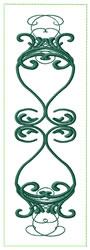 Decorative Bookmark embroidery design