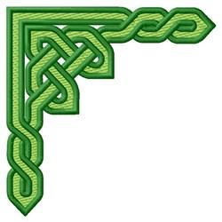 Knotwork Corner embroidery design
