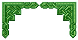 Knotwork Border embroidery design