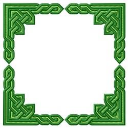 Knotwork Square embroidery design