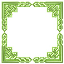 Knot Square embroidery design