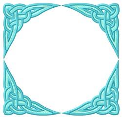 Celtic Square embroidery design