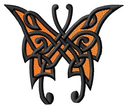 Knotwork Butterfly embroidery design