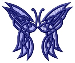 Butterfly Knotwork embroidery design