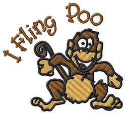 I Fling Poo embroidery design