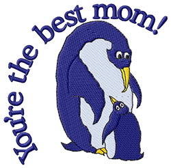 Youre the Best Mom embroidery design