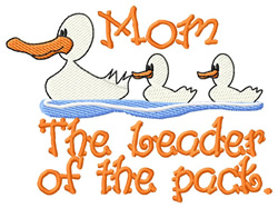 Leader of the Pack embroidery design
