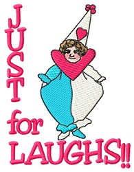 Just For Laughs embroidery design