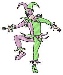 Jester embroidery design