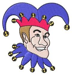 Jester Face embroidery design