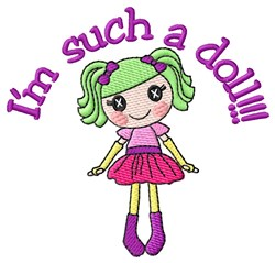 Such A Doll embroidery design