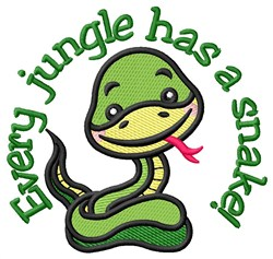 Every Jungle embroidery design