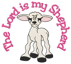 The Lord Shepherd embroidery design