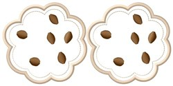 Chip Cookies embroidery design