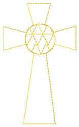 Celtic Cross Design embroidery design