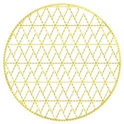Faith Ball Fill embroidery design