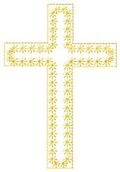 Cross Fill embroidery design