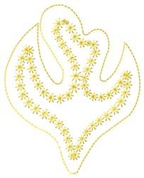 Dove Fill embroidery design