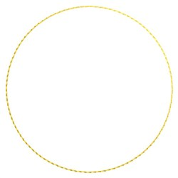 Circle Outline embroidery design