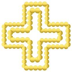 Greek Cross embroidery design