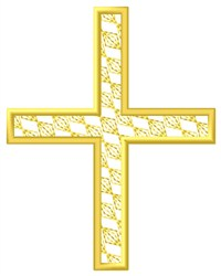 Greek Cross embroidery design