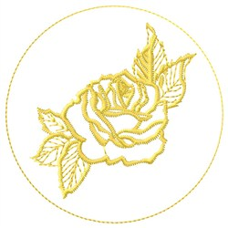 Rose Fill embroidery design