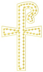 Shepherds Cross Fill embroidery design