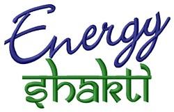Energy Shakti embroidery design