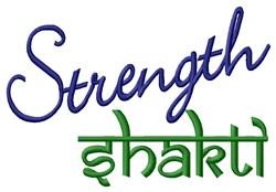 Strength Shakti embroidery design