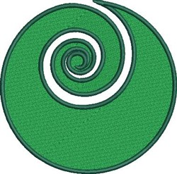 Maori Koru embroidery design