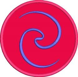 Koru Applique embroidery design