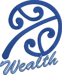 Wealth Manopare embroidery design