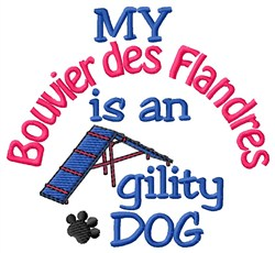 Bouvier des Flandres embroidery design