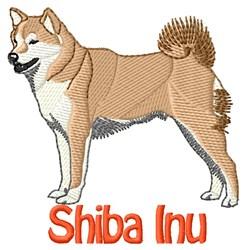 Shiba Inu Dog embroidery design