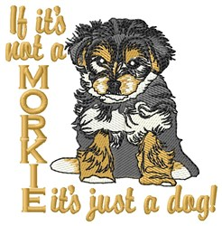 Just a Dog embroidery design