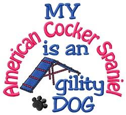 American Cocker Spaniel embroidery design