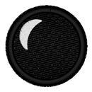 Cartoon Round Eye embroidery design