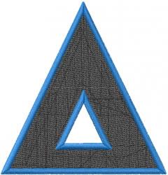 Toga Delta embroidery design