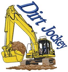 Dirt Jockey embroidery design