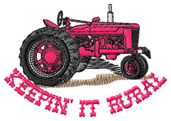 Keepin It Rural embroidery design